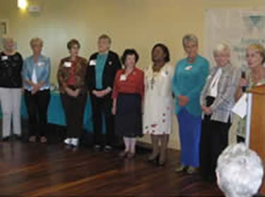 AAUW-OP Past Presidents at Branch 60th Birthday Celebration