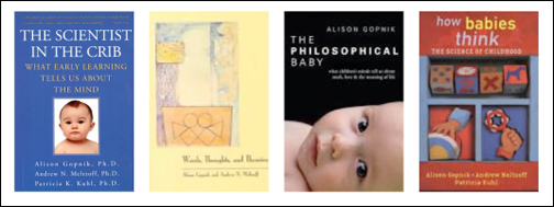 Some of the books authored by Alison Gopnik