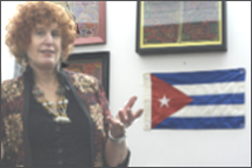 Branch member Lenore Gallin will speak on women's issues in Cuba