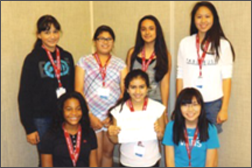Tech Trek Scholars - Summer 2014