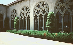 Julia Morgan's Chapel of the Chimes Cloister