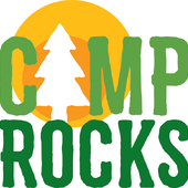 Girl Scouts Camp Rocks Logo