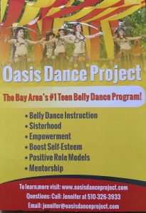 Oasis Dance Project logo