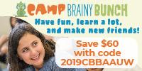 Camp Brainy Bunch Logo