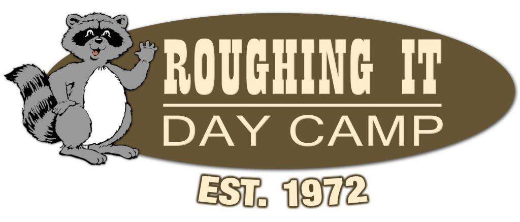Roughing It Day Camp Logo